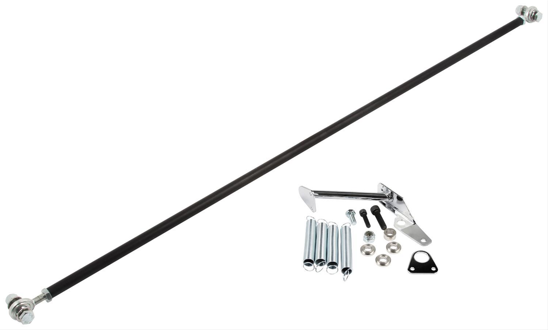 Allstar Carb Linkage Aluminum Black Anodized Kit ALL54160
