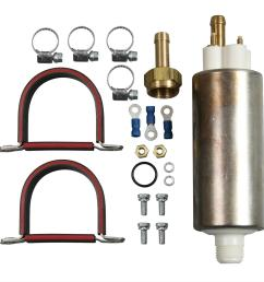 airtex external electric fuel pumps e8248 free shipping on orders over 99 at summit racing [ 1500 x 1334 Pixel ]