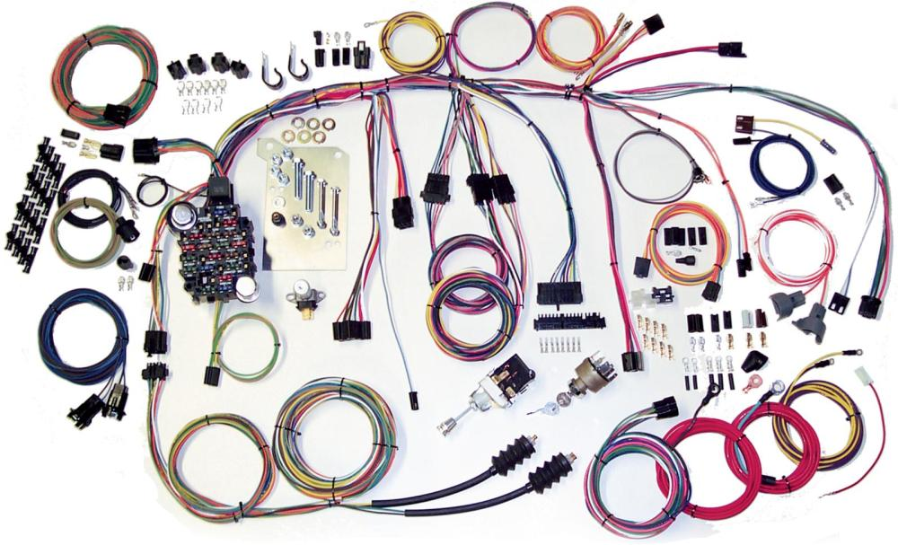 medium resolution of american autowire classic update series wiring harness kits 500560 free shipping on orders over 99 at summit racing