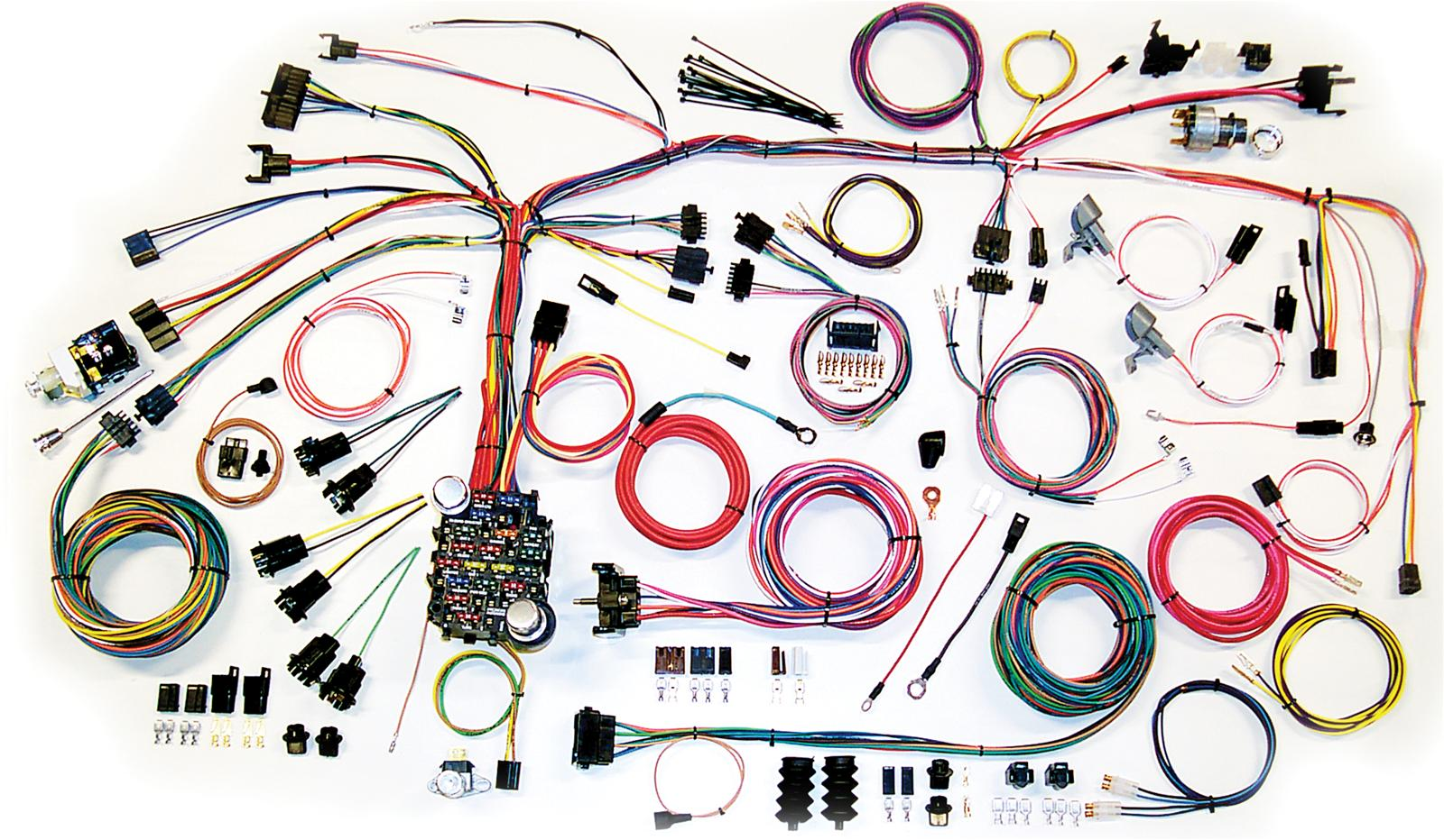 American Autowire Classic Update Series Wiring Harness Kits 500661