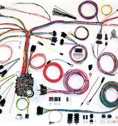 american autowire classic update series wiring harness kits 500661 free shipping on orders over 99 at summit racing [ 1600 x 932 Pixel ]