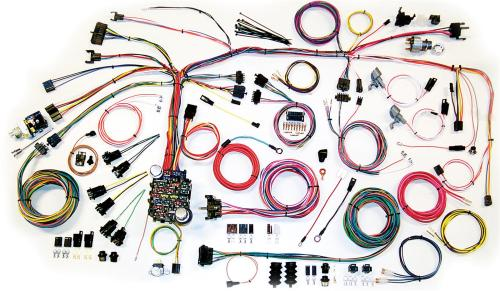 small resolution of american autowire classic update series wiring harness kits 500661 free shipping on orders over 99 at summit racing
