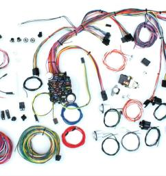 american autowire classic update series wiring harness kits 500686 free shipping on orders over 99 at summit racing [ 1493 x 681 Pixel ]
