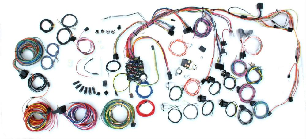 medium resolution of american autowire classic update series wiring harness kits 500686 free shipping on orders over 99 at summit racing