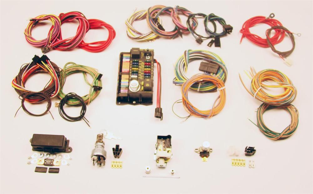 medium resolution of american autowire highway 22 wiring harness kits 500695 free shipping on orders over 99 at summit racing