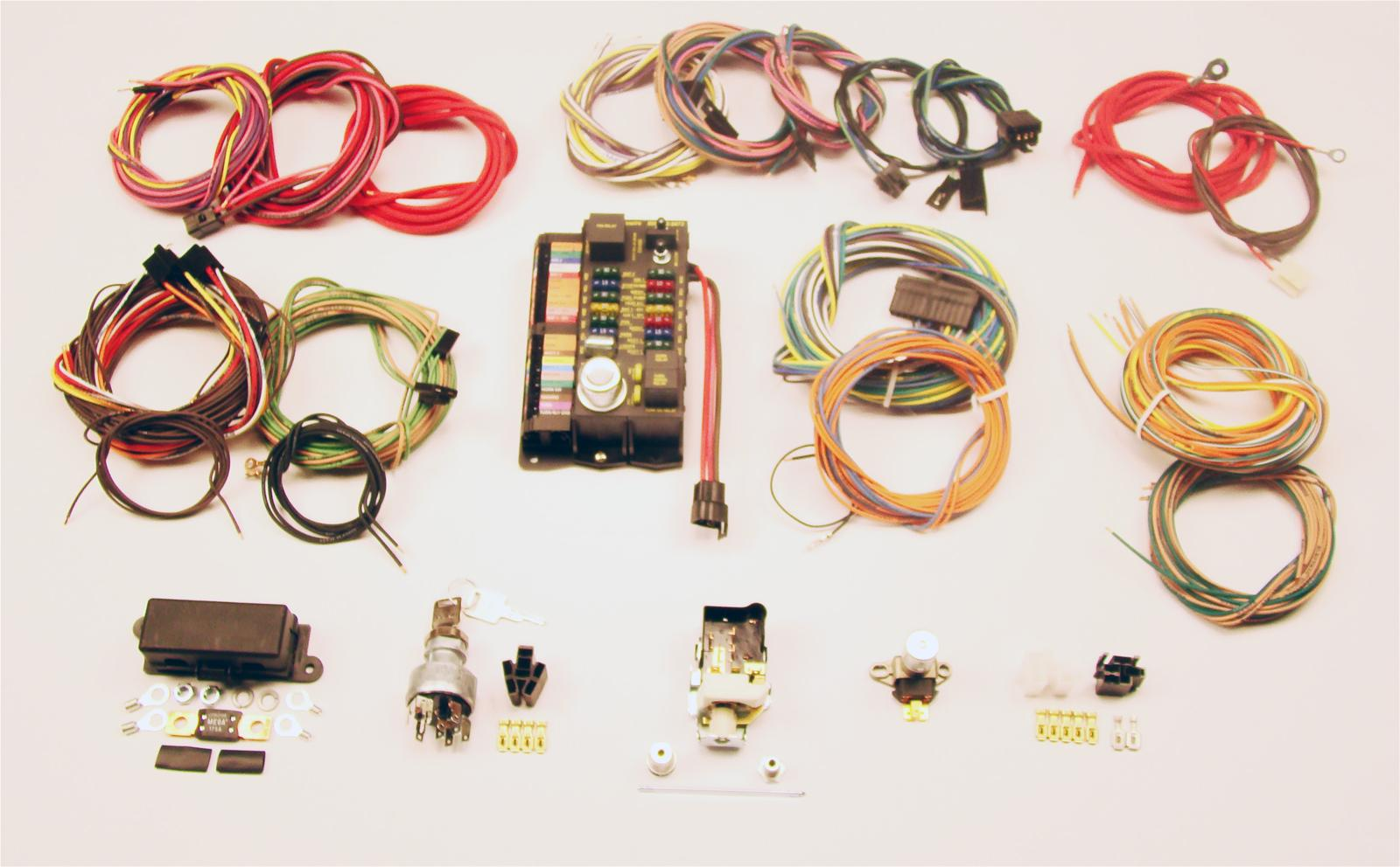 hight resolution of american autowire highway 22 wiring harness kits 500695 free shipping on orders over 99 at summit racing