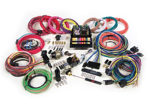 small resolution of custom ford wiring harness kits wiring diagram american autowire highway 15 wiring harness kits 500703 freeamerican