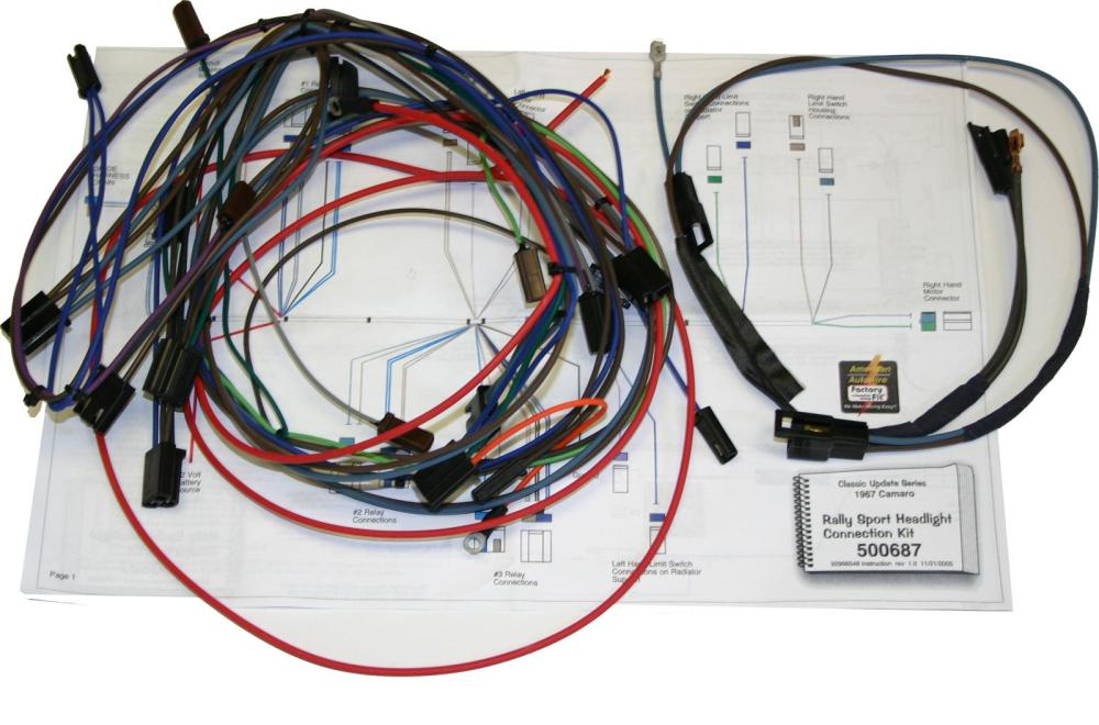medium resolution of american autowire headlight wiring harnesses 500773 free shipping on orders over 99 at summit racing