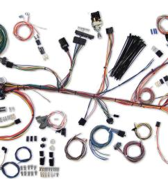 american autowire classic update series wiring harness kits 500981 free shipping on orders over 99 at summit racing [ 1600 x 841 Pixel ]