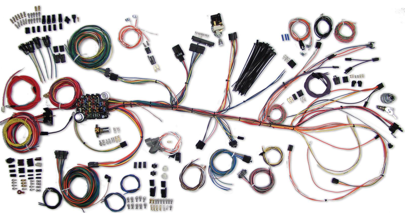 hight resolution of american autowire classic update series wiring harness kits 500981 wiring diagram besides 1966 chevy chevelle ss for sale on fuse and