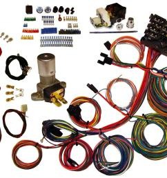 american autowire power plus 13 wiring harness kits 510004 free shipping on orders over 99 at summit racing [ 1377 x 1034 Pixel ]