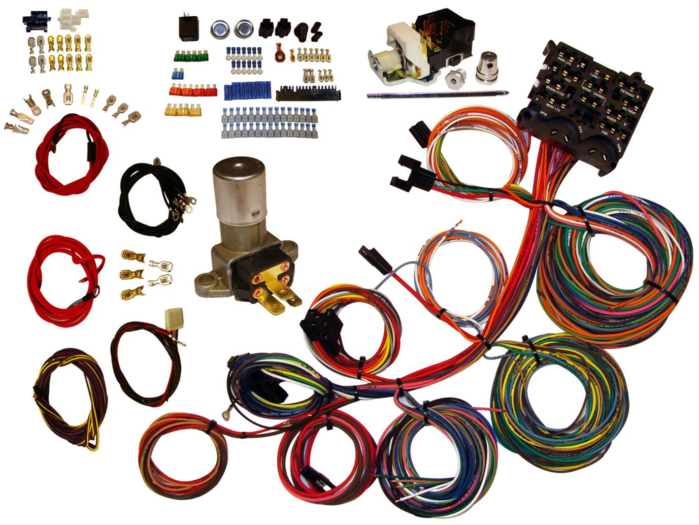 hight resolution of american autowire power plus 13 wiring harness kits 510004 free shipping on orders over 99 at summit racing