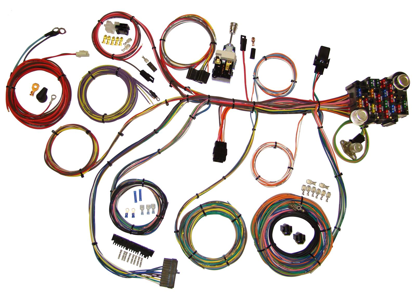 hight resolution of american autowire power plus 20 wiring harness kits 510008 free shipping on orders over 99 at summit racing