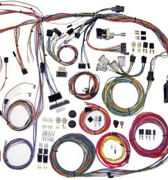 american autowire classic update series wiring harness kits 510105 free shipping on orders over 99 at summit racing [ 1600 x 1011 Pixel ]