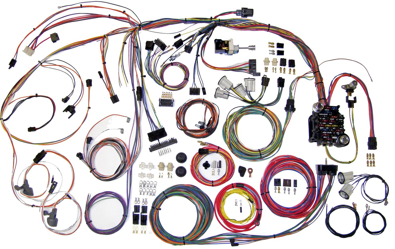 hight resolution of american autowire classic update series wiring harness kits 510105 free shipping on orders over 99 at summit racing