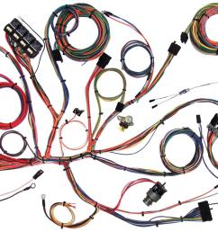 american autowire classic update series wiring harness kits 510125 free shipping on orders over 99 at summit racing [ 1600 x 909 Pixel ]