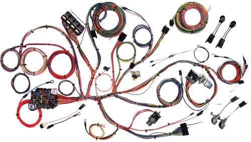 small resolution of american autowire classic update series wiring harness kits 510125 66 mustang fuse box layout american autowire