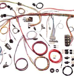 american autowire classic update series wiring harness kits 510177 free shipping on orders over 99 at summit racing [ 1600 x 943 Pixel ]