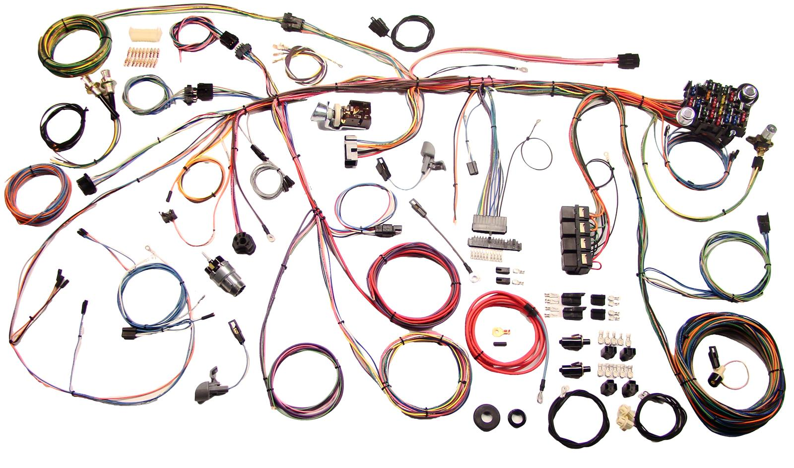 hight resolution of american autowire classic update series wiring harness kits 510177 free shipping on orders over 99 at summit racing