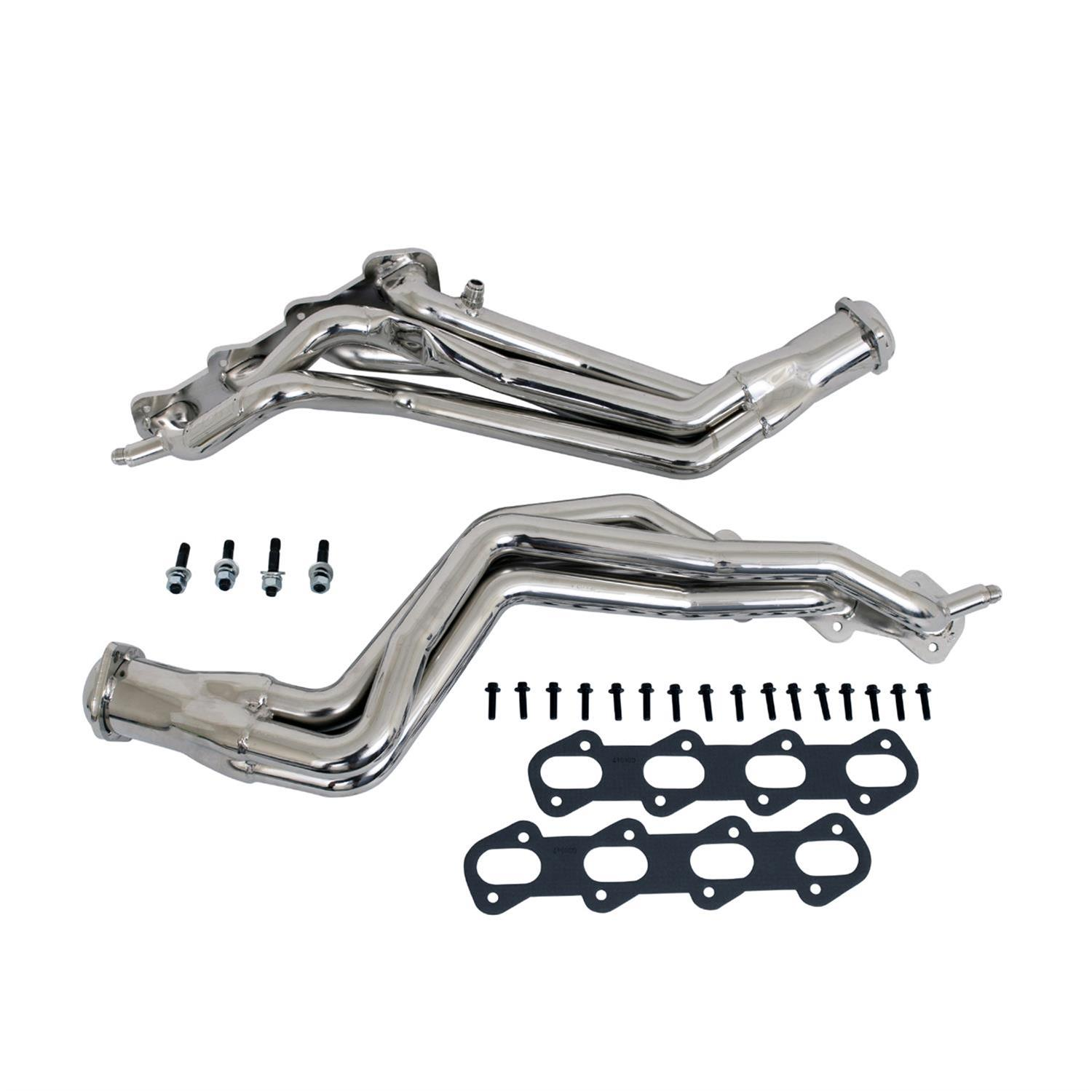 Bbk Headers Full Length Steel Chrome Ford Mustang Cobra 4