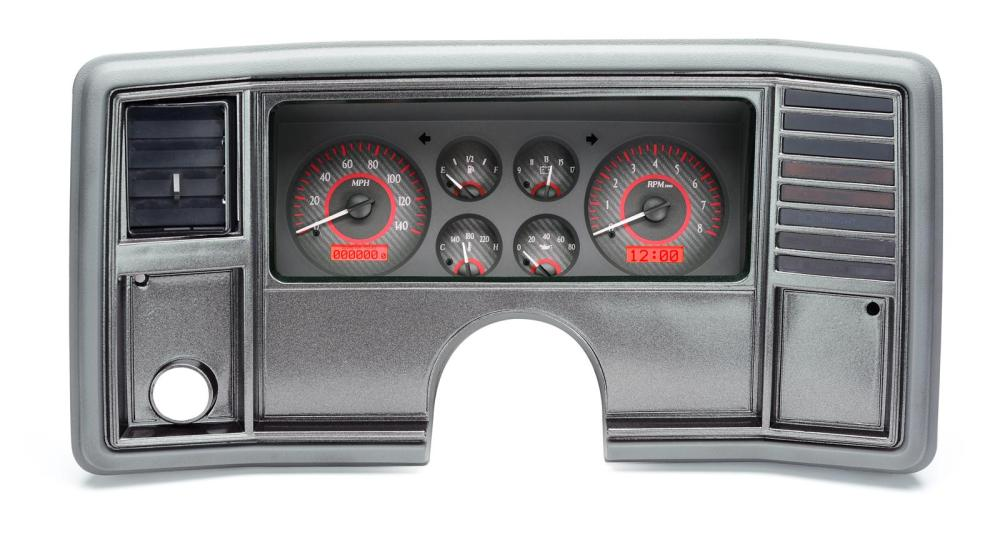 medium resolution of dakota digital vhx series direct fit analog gauge systems vhx 78c mc c r free shipping on orders over 99 at summit racing