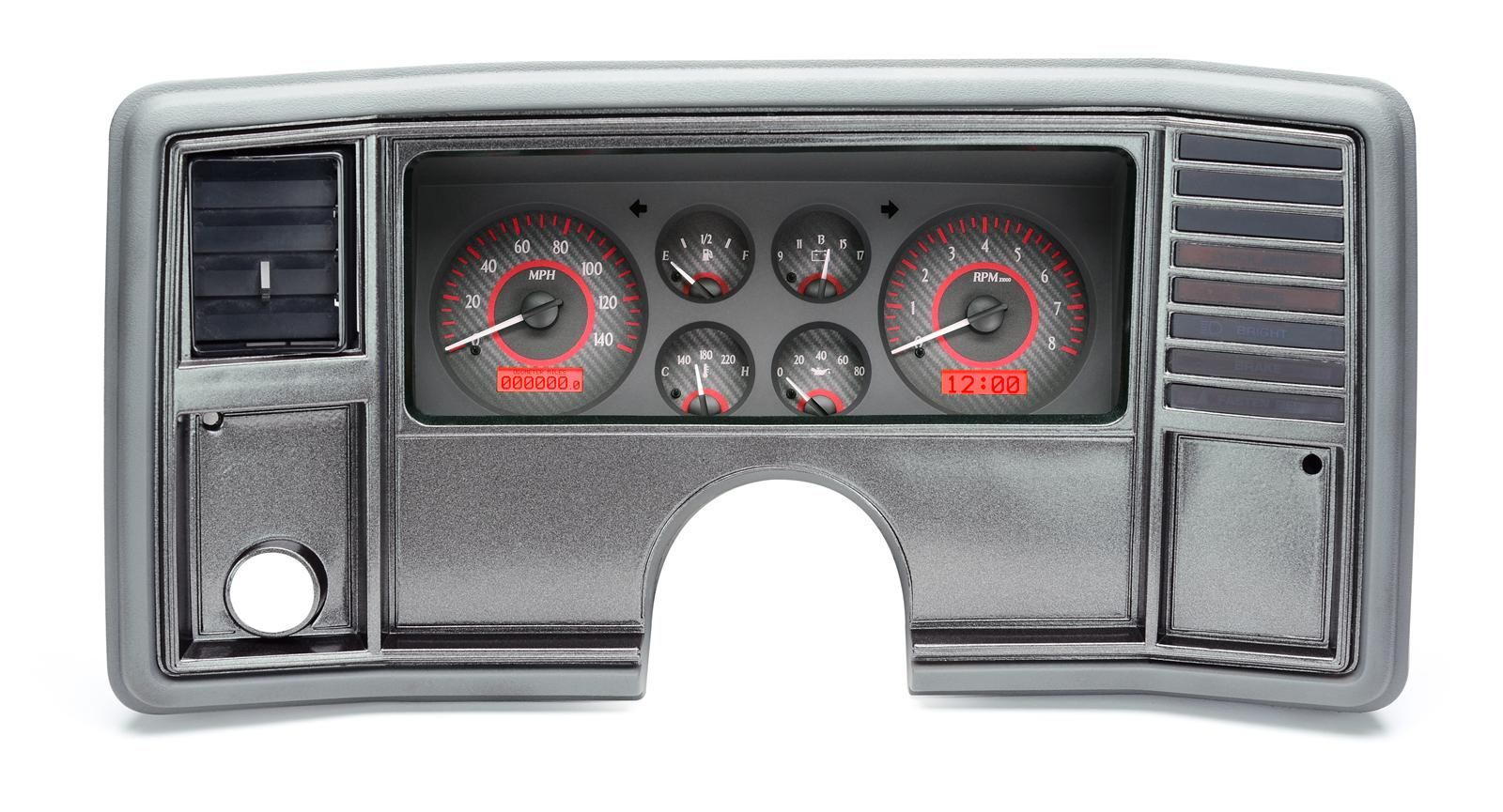 hight resolution of dakota digital vhx series direct fit analog gauge systems vhx 78c mc c r free shipping on orders over 99 at summit racing