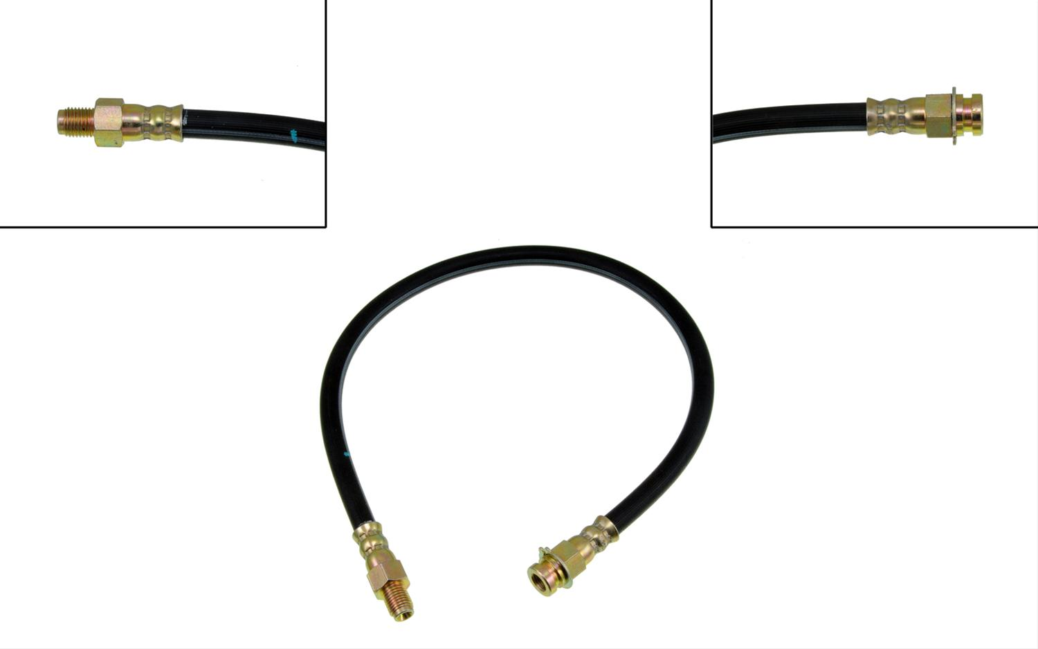 Dorman Brake Line Replacement Rubber 21 00 In Length Each
