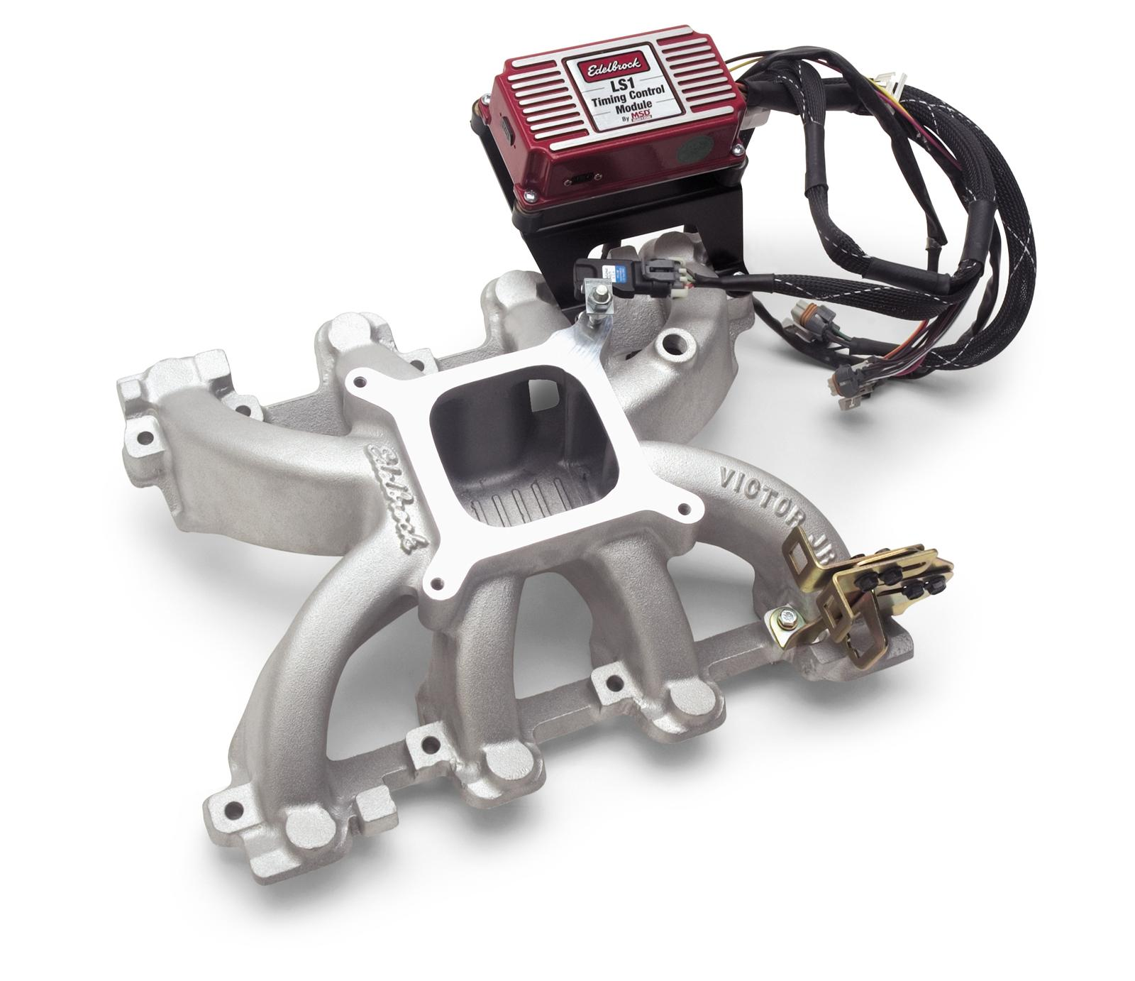 hight resolution of edelbrock victor jr ls1 carbureted intake manifold packages 2908 free shipping on orders over 99 at summit racing