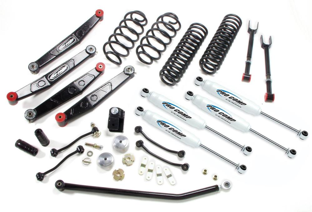 medium resolution of pro comp stage ii suspension lift kits k3090b free shipping on orders over 99 at summit racing