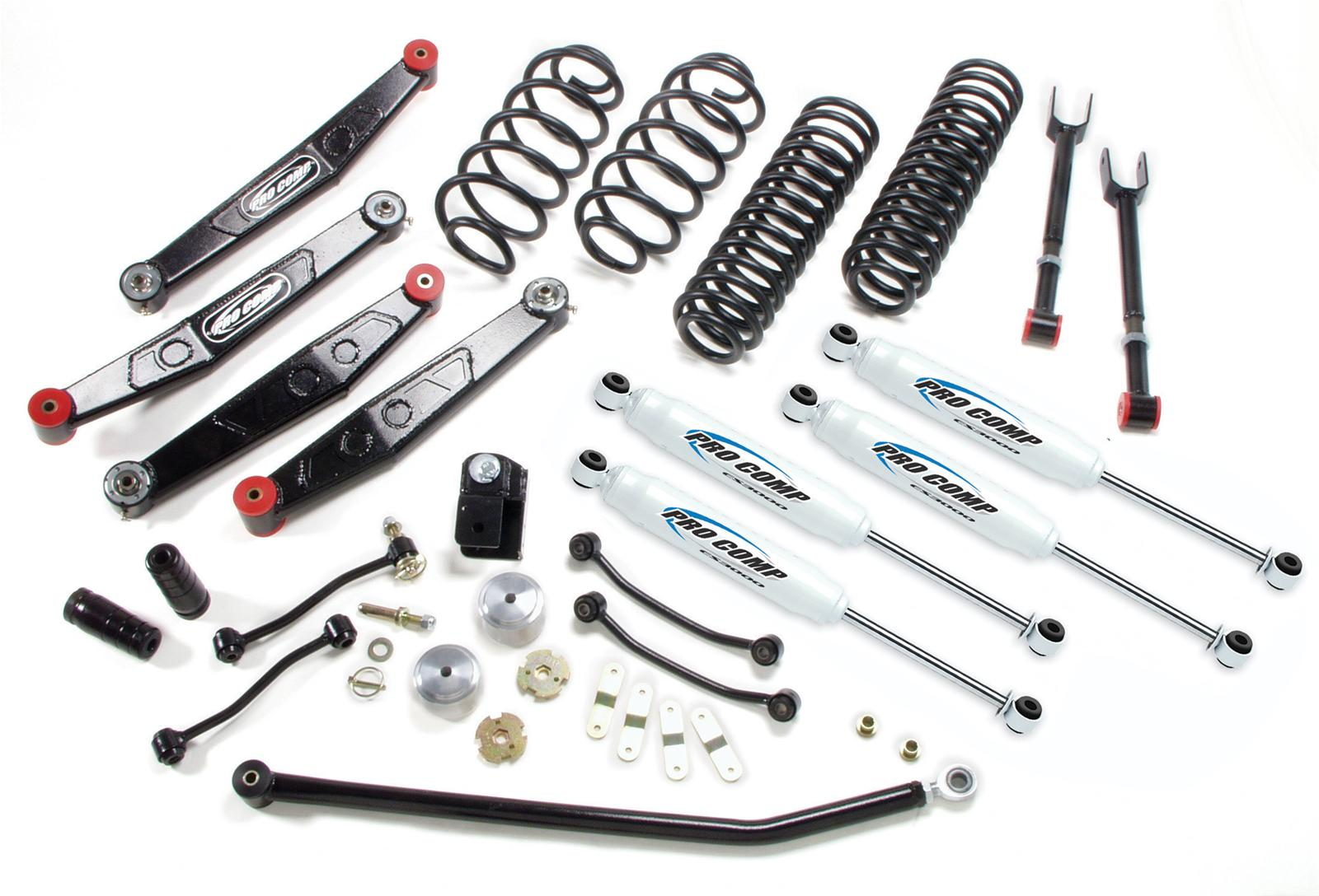 hight resolution of pro comp stage ii suspension lift kits k3090b free shipping on orders over 99 at summit racing