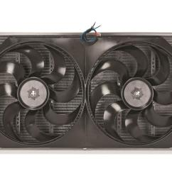flex a lite aluminum radiator and fan kits 57291 free shipping on orders over 99 at summit racing [ 1600 x 1067 Pixel ]