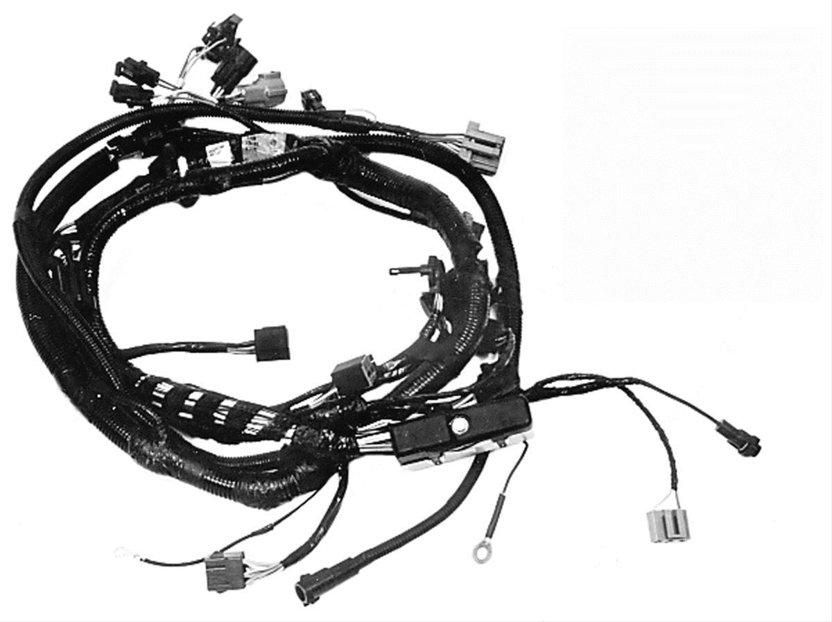 hight resolution of ford performance parts 302 351w multiport efi wiring harnesses m 12071 c302 free shipping on orders over 99 at summit racing
