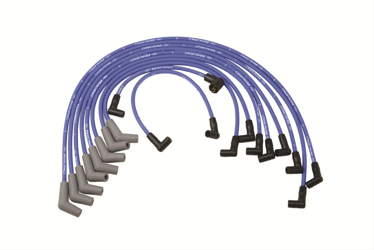 hight resolution of ford performance parts spark plug wire sets m 12259 c460 free shipping on orders over 99 at summit racing
