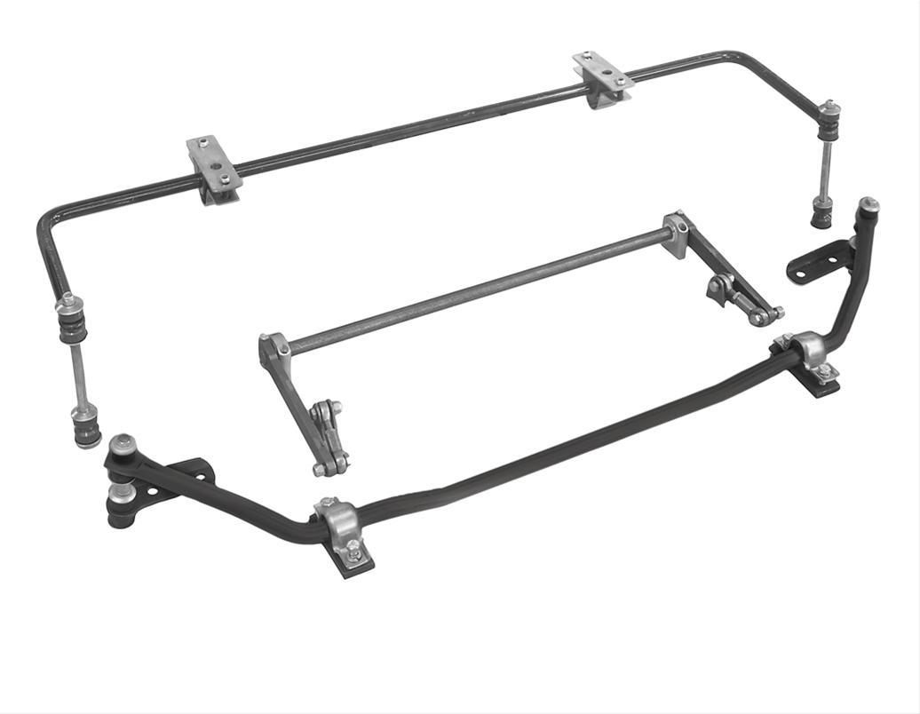 Heidts Sb 009 Sway Bar Rear Solid Steel Black 7 8
