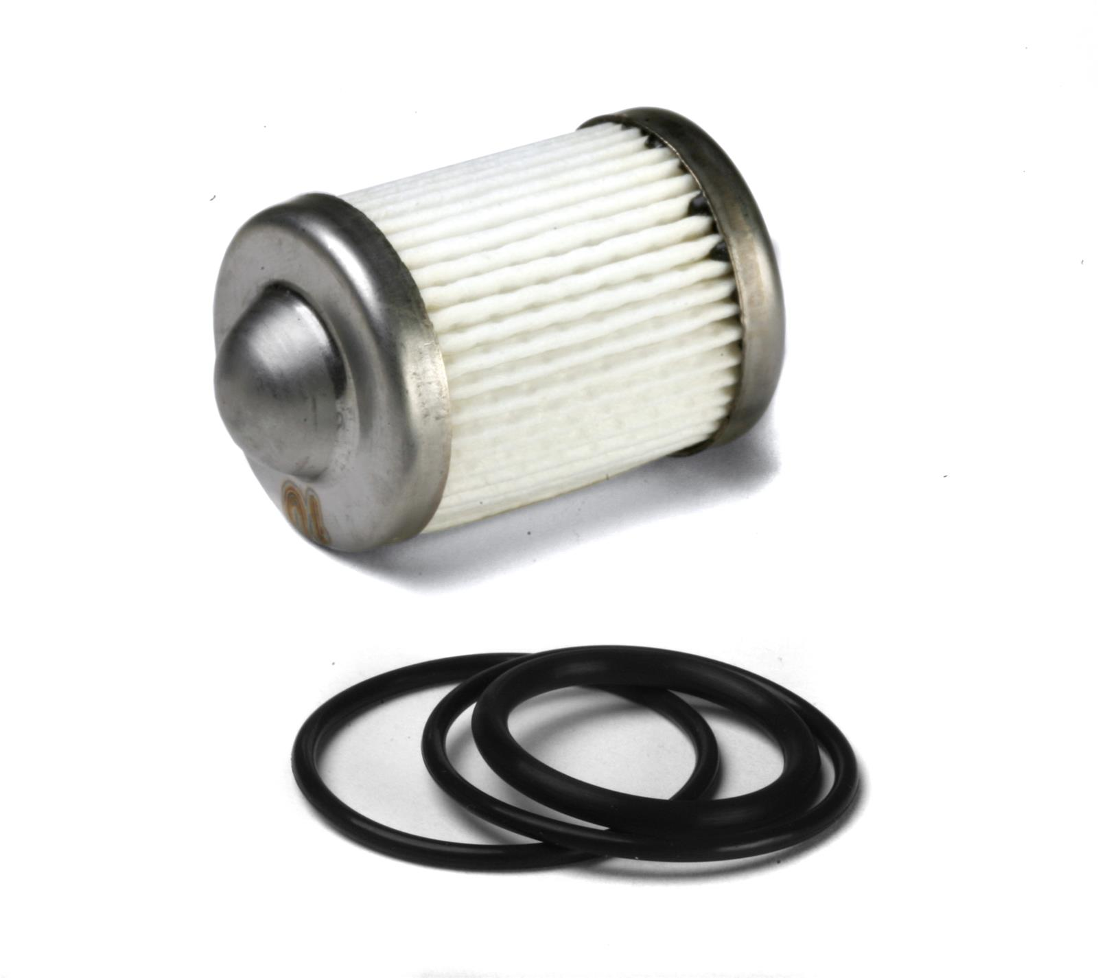 hight resolution of holley hp billet fuel filter replacement elements 162 556 free shipping on orders over 99 at summit racing