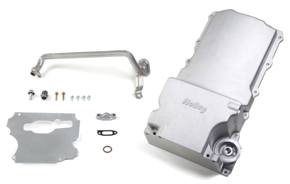 medium resolution of holley gm ls retrofit engine oil pans 302 1 free shipping on orders over 99 at summit racing