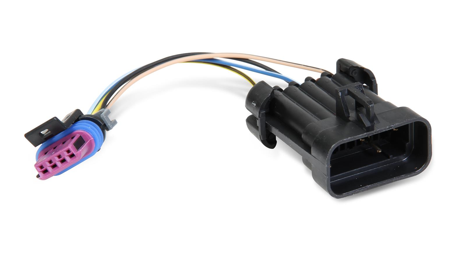 hight resolution of holley gm distributor wiring harness adapters 558 304 free shipping on orders over 99 at summit racing