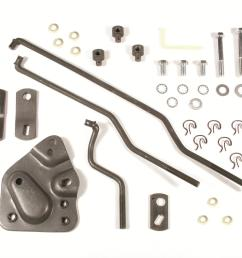 hurst competition plus installation kits 3733162 free shipping on orders over 99 at summit racing [ 1600 x 1258 Pixel ]
