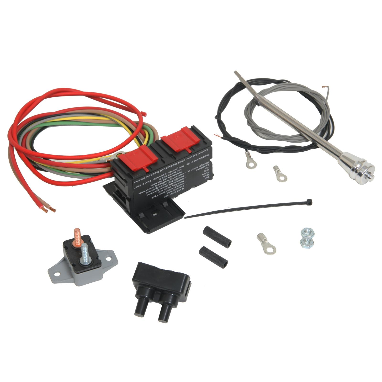 hight resolution of ididit headlight dimmer switch kits 3100030040 free shipping on orders over 99 at summit racing