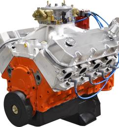 blueprint engines marine pro series chevy 632 c i d 815 hp dressed long block crate engines psm6320ctc1 free shipping on orders over 99 at summit racing [ 1600 x 1525 Pixel ]