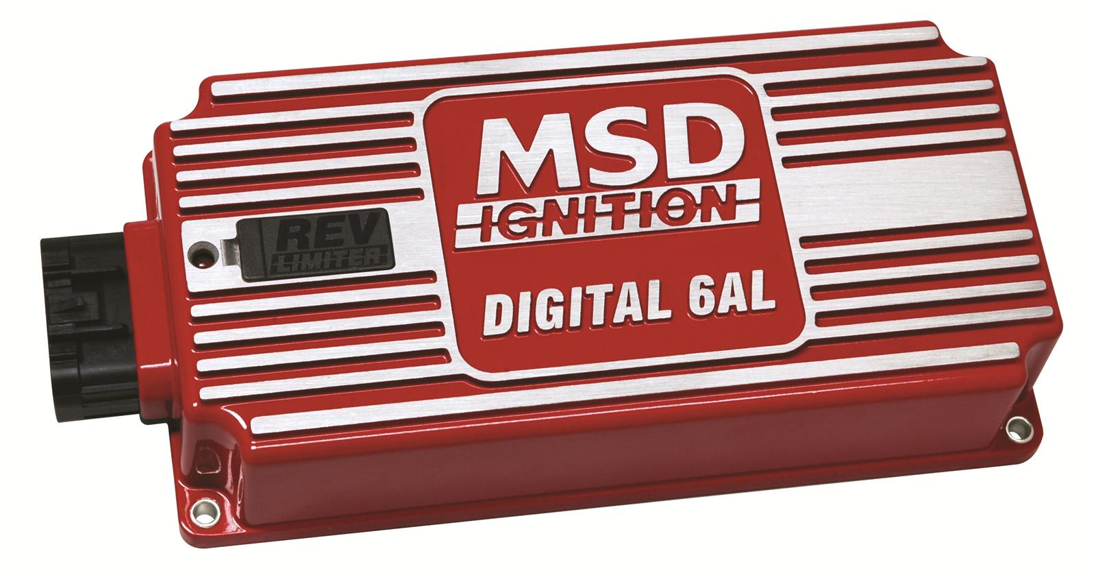 hight resolution of msd digital 6al ignition controllers 6425 free shipping on orders over 99 at summit racing