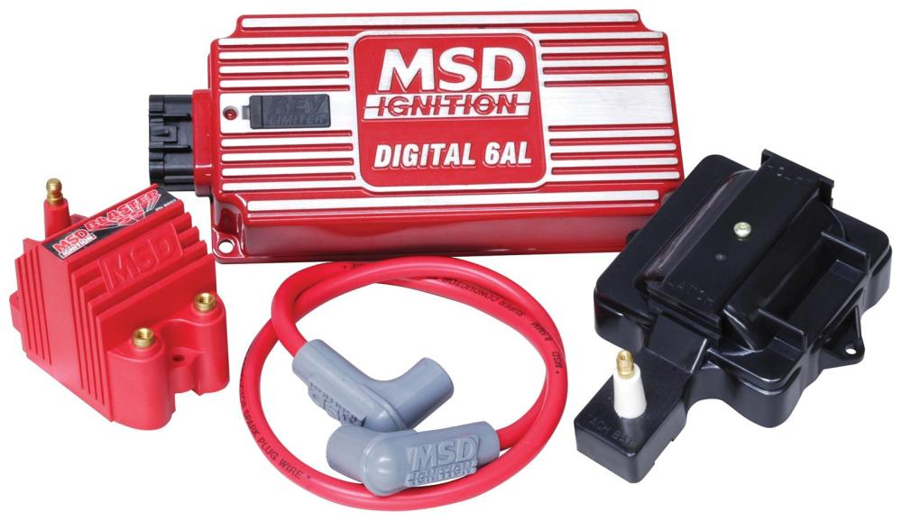 medium resolution of msd super hei kits 85001 free shipping on orders over 99 at rh summitracing com msd 6al box wiring diagram msd 6al 6420 wiring diagram