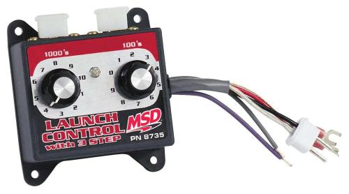 small resolution of msd launch control module selectors 8735 free shipping on orders over 99 at summit racing