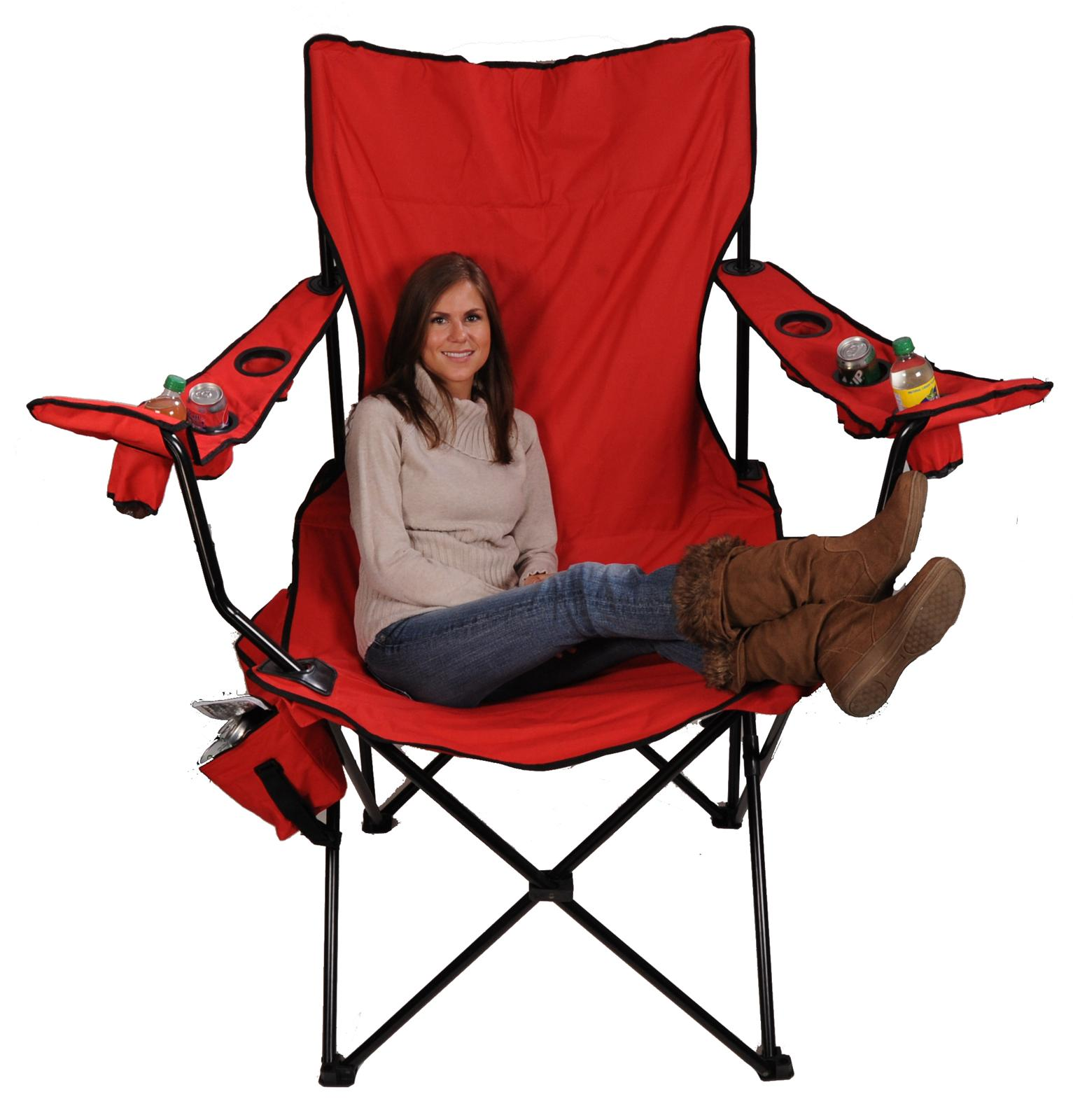 Camping Chair With Canopy Red Kingpin Folding Chair 7002