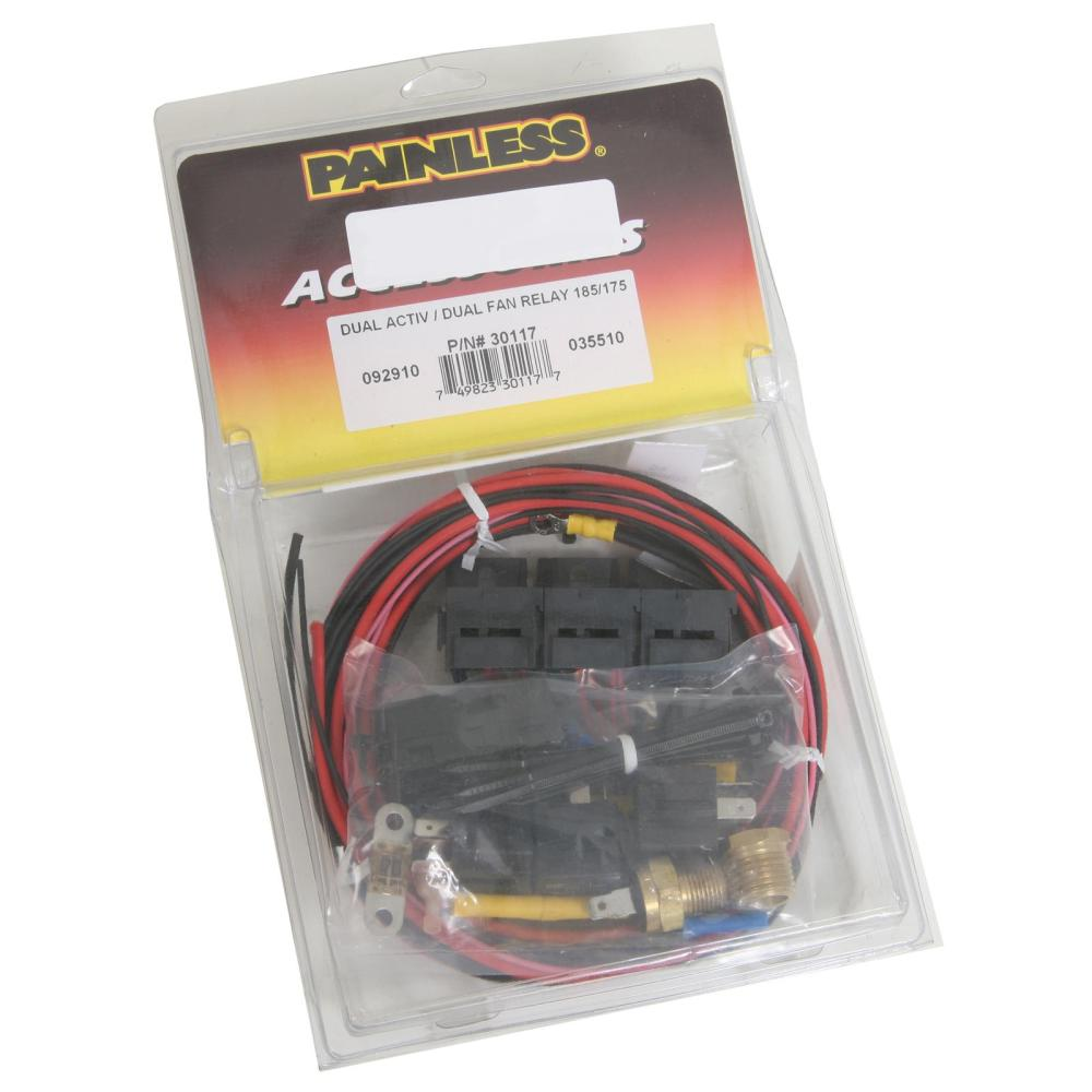 medium resolution of painless performance dual activation electric fan relay kits 30117 free shipping on orders over 99 at summit racing