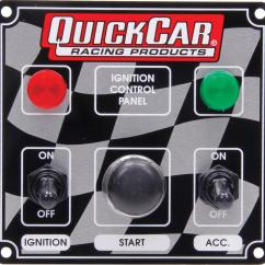 Quickcar Switch Panel Wiring Diagram Carrier Weathermaker 8000 Parts Ignition Control 50 022 Ebay