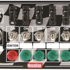 Quickcar Switch Panel Wiring Diagram Speaker Volume Control Ignition 50 164 Ebay