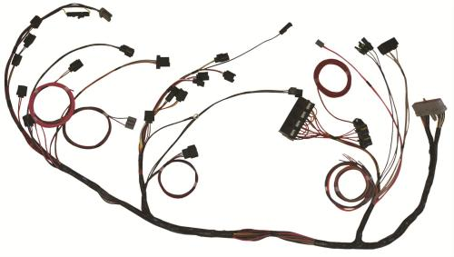 small resolution of details about ron francis cobra75 wiring harness efi mass airflow ford 5 0 5 8l universal kit