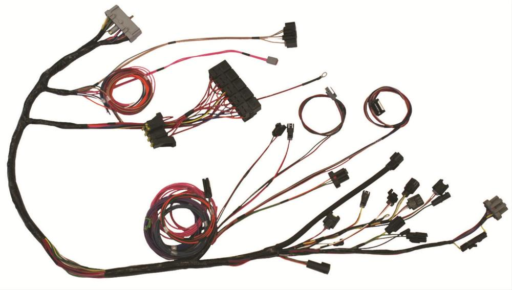 medium resolution of the detail zone ford 2 3 turbo efi engine swap wiring harnesses mg65 free shipping on orders over 99 at summit racing