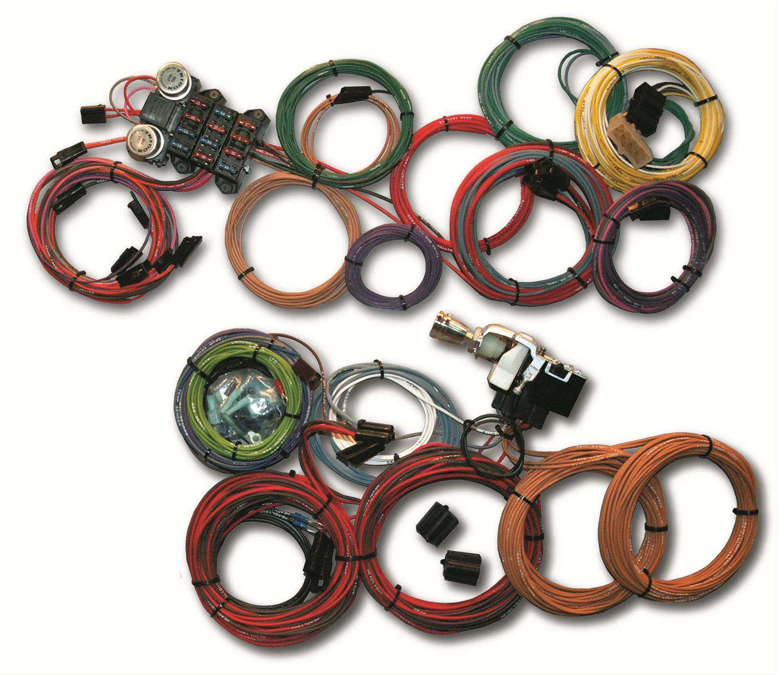 hight resolution of ron francis wiring mopar powered retro series wiring kits wr95 free shipping on orders over 99 at summit racing